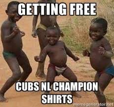 Chicago Cubs Memes - cubs meme free cubs chion shirts cubs suck club
