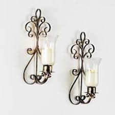 Wall Sconce Set Of 2 Better Homes And Gardens Vine And Leaf Tealight Wall Sconces Set