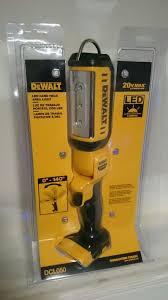 dewalt 20v area light dewalt 20v max led area light flashlight tools machinery in