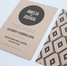 aztec wedding invitation suite by love ink design