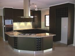 small space open kitchen design lummy rounded counter kitchen island added dark grey polished