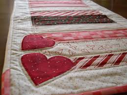 valentines day table runner s day table runner quilting table runners