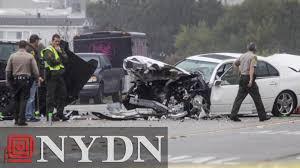 lexus driver bruce jenner bruce jenner car crash caught on bus camera youtube