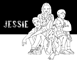 disney coloring pages jessie amazing of fabulous jessie disney channel for disney chan 2941