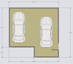 charming single car garage kit 3 double car floorplan jpg