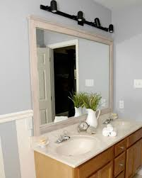 Bathroom Mirror Molding 10 Stunning Ways To Transform Your Bathroom Mirror Without