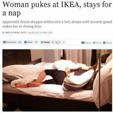 Ikea Furniture Meme - drunk women at ikea meme by mr ginger memedroid