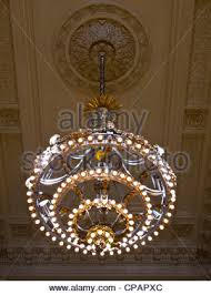 chandelier nyc chandelier vanderbilt grand central terminal nyc stock
