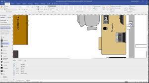 visio floor plan plan d u0027aménagement dans visio 2016 youtube