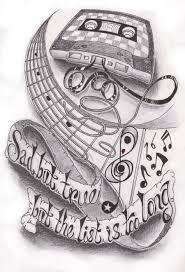 music half sleeve by dfletcher54734 deviantart com on deviantart