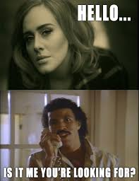 Adele Meme - the 10 funniest memes for adele s hello song