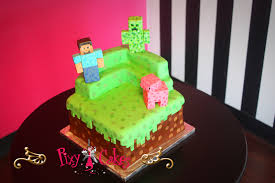 minecraft cake u2013 pixy cakes