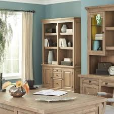 Double Bookcase Donny Osmond Home Florence Double Bookcase With Rustic Finish