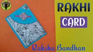 tutorial scrapbook card rakhi card greetings card for raksha bandhan diy handmade