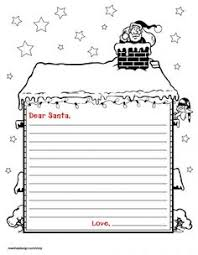 letter to santa template printable black and white letter to santa free printable download printable letters free