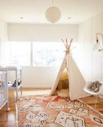 Modern Nursery Rug Delectable Modern Nursery Ideas Come With Blue Wall Paint Color