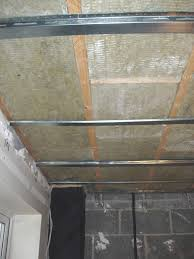 How To Soundproof A Basement Ceiling by Acoustic Mineral Wool Installation Instructions
