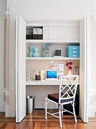 furniture small office design with desk and floating shelves also