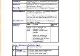 software testing report template and weekly activity report sample