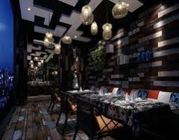 Dark Dining Room Modern Dark Brown Interior Dining Hall With Nicely Ornamented