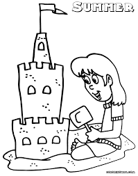 summer coloring pages coloring pages to download and print