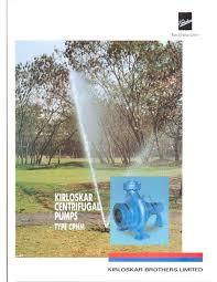 end suction utility pump cphm kirloskar brothers ltd pdf