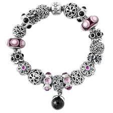 luxury charm bracelet images Pandora pink charm bracelet luxury pandora midnight garden jpg
