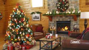 interior beautiful balsam hill trees and lowes fireplace with