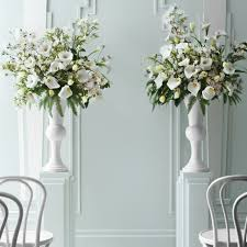 Wedding Aisle Ideas Plant Stand Flower Stands Foring Aisles Best Aisle Candles Ideas