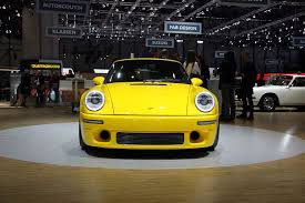 porsche yellow bird the ruf ctr is no longer just a fancy modified porsche autoguide