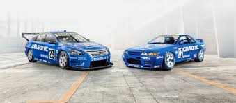 nissan race car motorsport calsonic and and bre livery race again in australia
