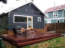 Backyard Deck Ideas Small Backyard Decks Kwameanane