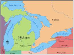 Map Of Michigan by Teaching With A Pioneer Child U0027s Account Seeking Michigan