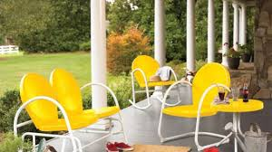 Metal Retro Patio Furniture by Retro Outdoor Furniture Surprising Vintage Metal Furniture Vintage