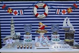 Nautical Theme Baby Shower Decorations - 12 nautical birthday party and baby shower ideas sailboat