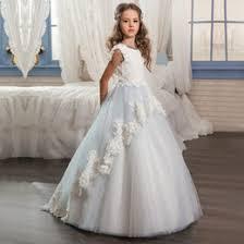 discount beautiful long dresses for kids 2017 beautiful long
