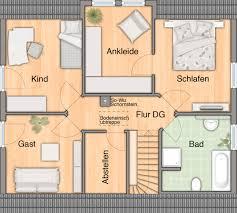 Schlafzimmer Mit Ankleide Haus Das Flair 134 Hausbau24