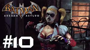 harley quinn arkham city halloween costume batman arkham asylum story mode playthrough ep 10 beating up