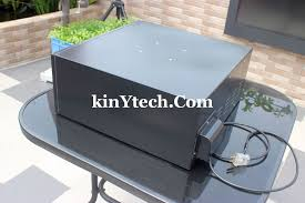 how to build enclosure for outdoor projector weatherproof