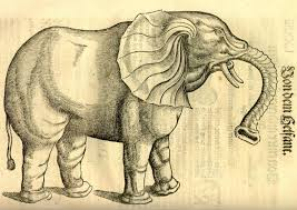 Poem The Blind Man And The Elephant The Pachyderm In The Room U2013 Kuniyoshi U0027s Elephant Toshidama