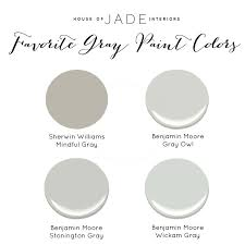 house of jade u0027s favorite gray paint colors house of jade