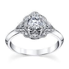engagement ring setting rb signature 14k white gold engagement ring setting 1 10 cttw