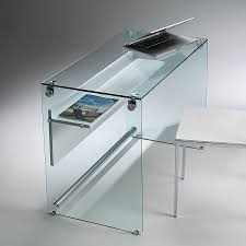 Computer Desks Glass by Contemporary Computer Table Glass For Laptop Computers