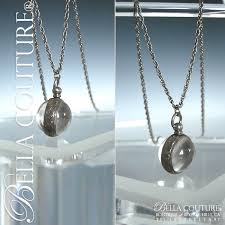 light chain necklace images Gorgeous pools of light exquisite art deco sphere charm pendant jpg