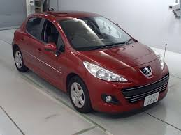 sell peugeot buy import peugeot peugeot 207 2011 to kenya from japan auction