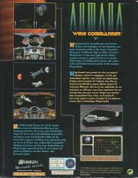 si e pour le dos wing commander armada 1994 dos box cover mobygames