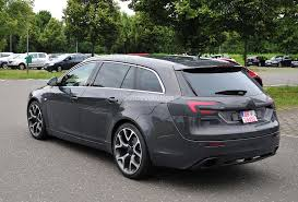 spyshots opel insignia opc sports tourer getting a refresh