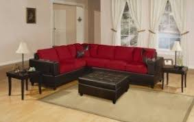 Plush Leather Sofas by Red Faux Leather Sofa Foter