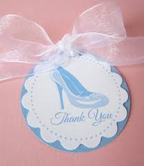 glass slipper party favor cinderella birthday party favor tags birthday wikii