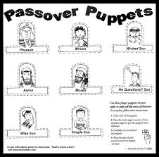 purim puppets happy passover